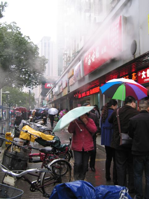 Back Streets, Hot Sweet Potatoes, and Finding China